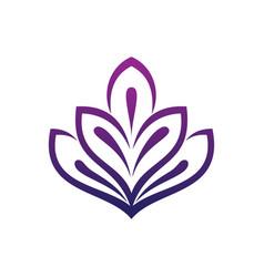 leaf ecology logo vector image
