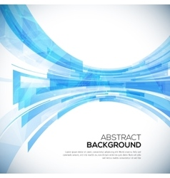 Business abstract blue background vector image vector image