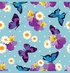 floral seamless patternfloral seamless pattern vector image vector image
