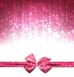 Christmas pink abstract background vector image