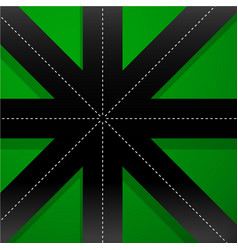 8 pointed abstract intersection vector image