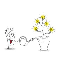 Cultivate ideas vector