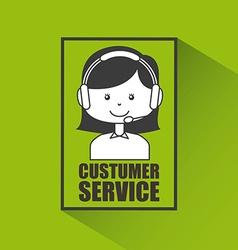 Customer service vector