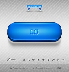 design elements as business web buttons for vector image
