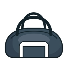 Handle bag gym isolated icon vector