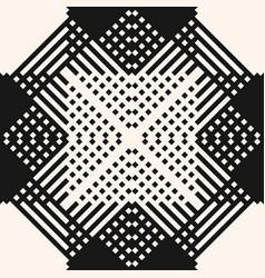 modern ethnic style ornament monochrome geometric vector image