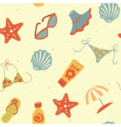 summer pattern vector image