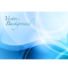 background abstract blue vector image