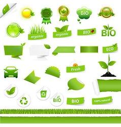 Bio Signs Set vector image vector image