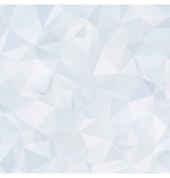 Abstract light polygonal background Ice back vector image