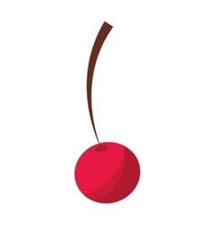 fresh cherry fruit icon vector image