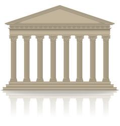 RomanGreek pantheon vector image