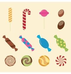 Sweet candies vector image