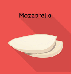 Cheese and mozzarella logo vector