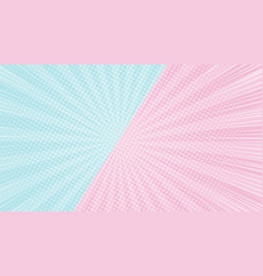 Colorful 2 tones pink and blue background vector