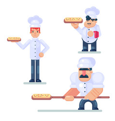 Design culinary and cuisine professionals in vector
