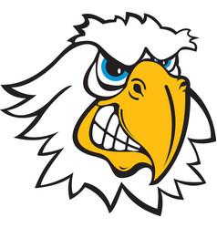Eagle head logo mascot vector