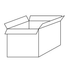 file for delete box the black color icon vector image