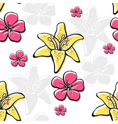 FlowersBackground2 vector image