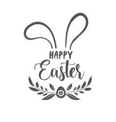 Happy easter concept design story template vector