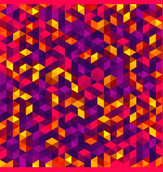 polygonal mosaic triangle texture vector image