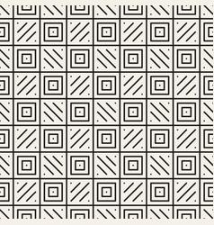 Seamless checker pattern geometric stripes vector