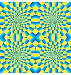 Rotation motion vector image