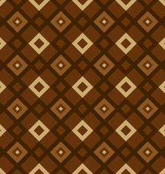 geometric pattern brown vector image