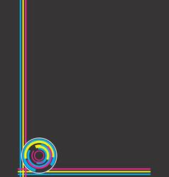 Art deco background vector