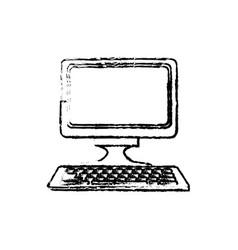 Computer keyboard digital device technology vector