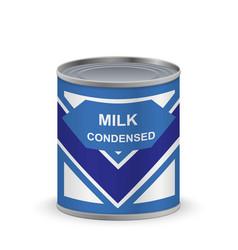 Condensed milk vector