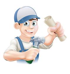construction training vector image