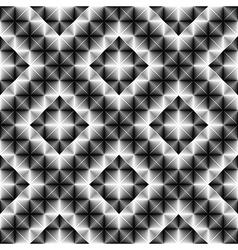 Design seamless square diamond pattern vector image
