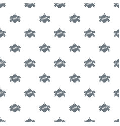 fruit juice pattern seamless vector image