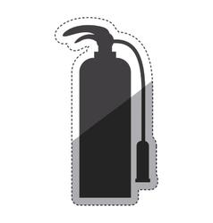 Isolated extinguisher design vector