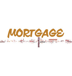 Knoxville mortgage companies text background word vector