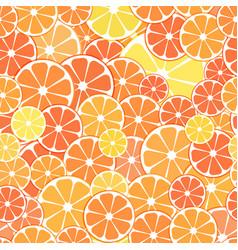 seamless pattern background sliced halves vector image