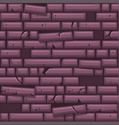 seamless texture placing purple old stone wall vector image