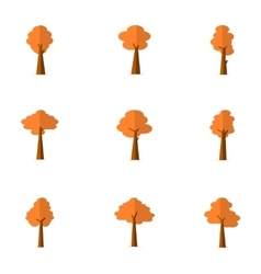 Tree variuos flat vector