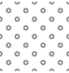 Two crossed stars pattern simple style vector