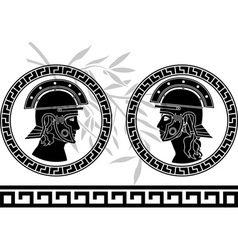 roman god and goddess vector image vector image