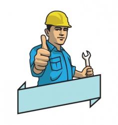 handyman vector image vector image
