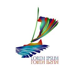 Sail Ship Logo vector image vector image