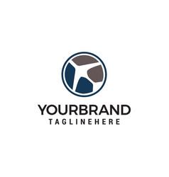 air travel logo simple planes logo designs vector image