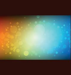 Bokeh color background vector