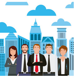 business people design vector image