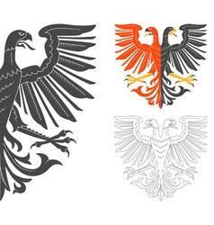 Double headed eagle vector