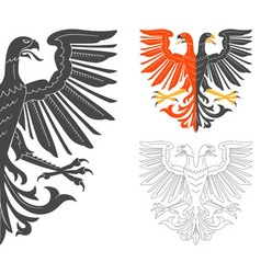 Double Headed Eagle vector image