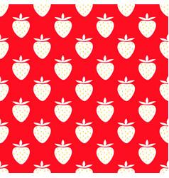 juicy strawberries vector image