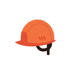 protective helmet for industrial work icon vector image
